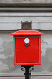 Metal Mailbox Royalty Free Stock Images