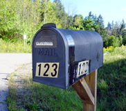 Metal Mailbox Royalty Free Stock Photography