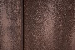 Metal malująca tekstura zdjęcia stock