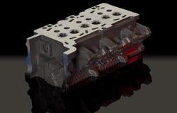 Metal maszynowe części dla samochodów Zdjęcia Stock