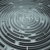 Metal Maze Stock Photos