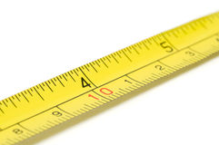 Metal Measure Tape Royalty Free Stock Photos