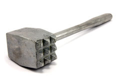 Metal meat hammer Royalty Free Stock Photos