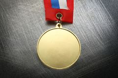 Metal medal Royalty Free Stock Images