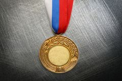Metal medal Royalty Free Stock Photography