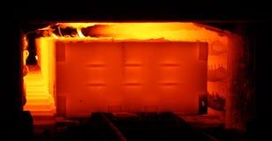 Metal melting Stock Photography
