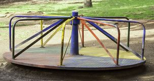 Merry go round swing Royalty Free Stock Images