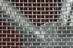 Metal mesh Royalty Free Stock Photos