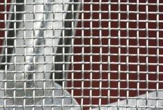 Metal mesh Stock Photo