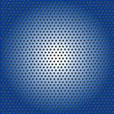 Abstract Shiny Blue Metal Mesh Pattern Background royalty free illustration