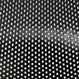 Metal mesh background. Black metal mesh background from colander Stock Photos