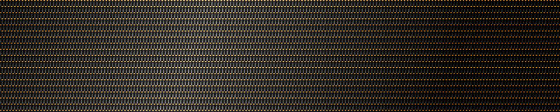 Metal mesh background in gold and black Royalty Free Stock Photo