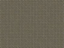 Metal mesh. Dense thick on black background Stock Photography