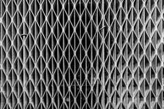 Metal mesh grill from airvent Royalty Free Stock Photography