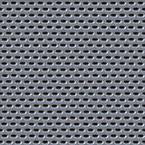 Metal mesh holes background Royalty Free Stock Images