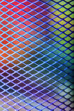 Metal mesh pattern Stock Images