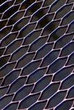 Metal mesh sheet Royalty Free Stock Image