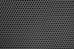 Metal mesh of speaker grill Royalty Free Stock Photos