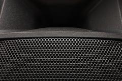 Metal mesh speaker. Stock Image