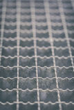Metal mesh - step grid Stock Photos