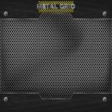 Metal mesh texture vector Stock Image
