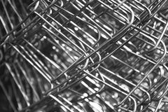 Metal mesh wire Royalty Free Stock Image
