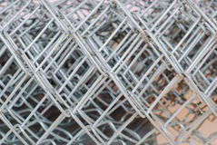 Metal mesh wire Royalty Free Stock Photo