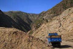 Metal Mine Gansu Province China. Metal Mine Truck Gansu Province China Stock Photos