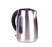 Metal modern kettle. Royalty Free Stock Photo