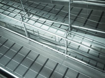 Metal modern ramp Stock Photo