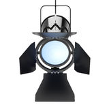 Metal Modern Spotlight Suspend from Ceiling. 3d Rendering Royalty Free Stock Photos