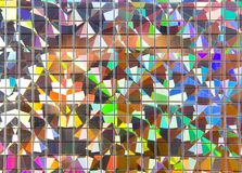 Metal mosaic Royalty Free Stock Image