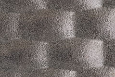 Metal moulded into a pattern Royalty Free Stock Image