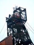 Metal mound of iron ore mine Royalty Free Stock Image