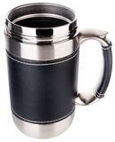 Metal mug Royalty Free Stock Images