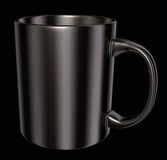 Metal mug Royalty Free Stock Photography