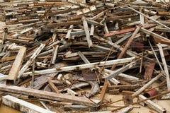 Metal na budowach Fotografia Stock