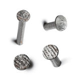 Metal nail head set  Stock Photo