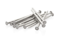 Metal nails group Stock Photography