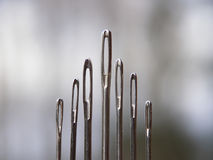 Metal needles Royalty Free Stock Images