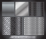 Metal net collection vector illustration