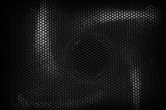 Metal net dark Royalty Free Stock Image