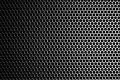Metal net dark Royalty Free Stock Images