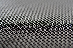 Metal net macro Stock Image