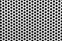 Metal net with perforated circles Royalty Free Stock Photos