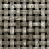 Metal net seamless background. Stock Photos