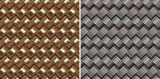 Metal net seamless pattern Stock Photo