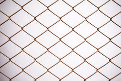 Metal net , Vintage color Royalty Free Stock Images