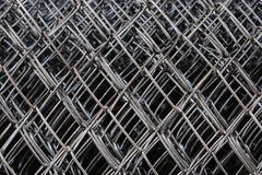 Metal netting mesh Royalty Free Stock Images
