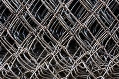 Metal netting mesh Stock Photos